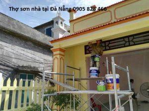 Thi công sơn nhà tại Đà Nẵng